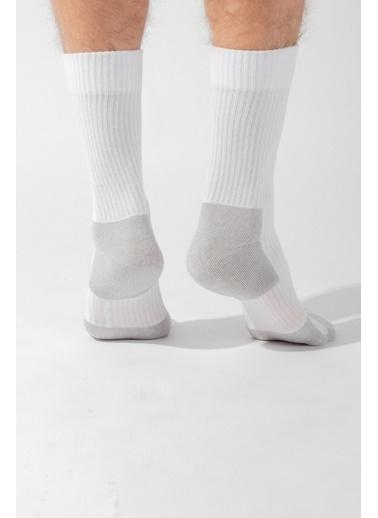 Katia & Bony Sport Erkek Soket Çorap  Beyaz